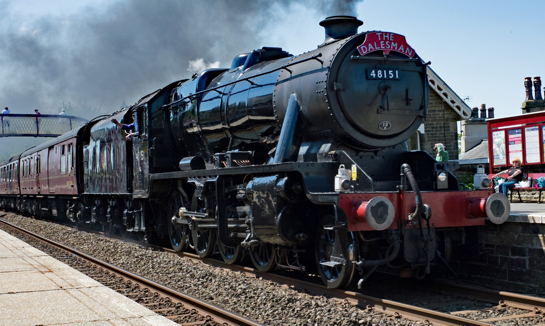 48151 at Settle in May 2018. ©Andrew