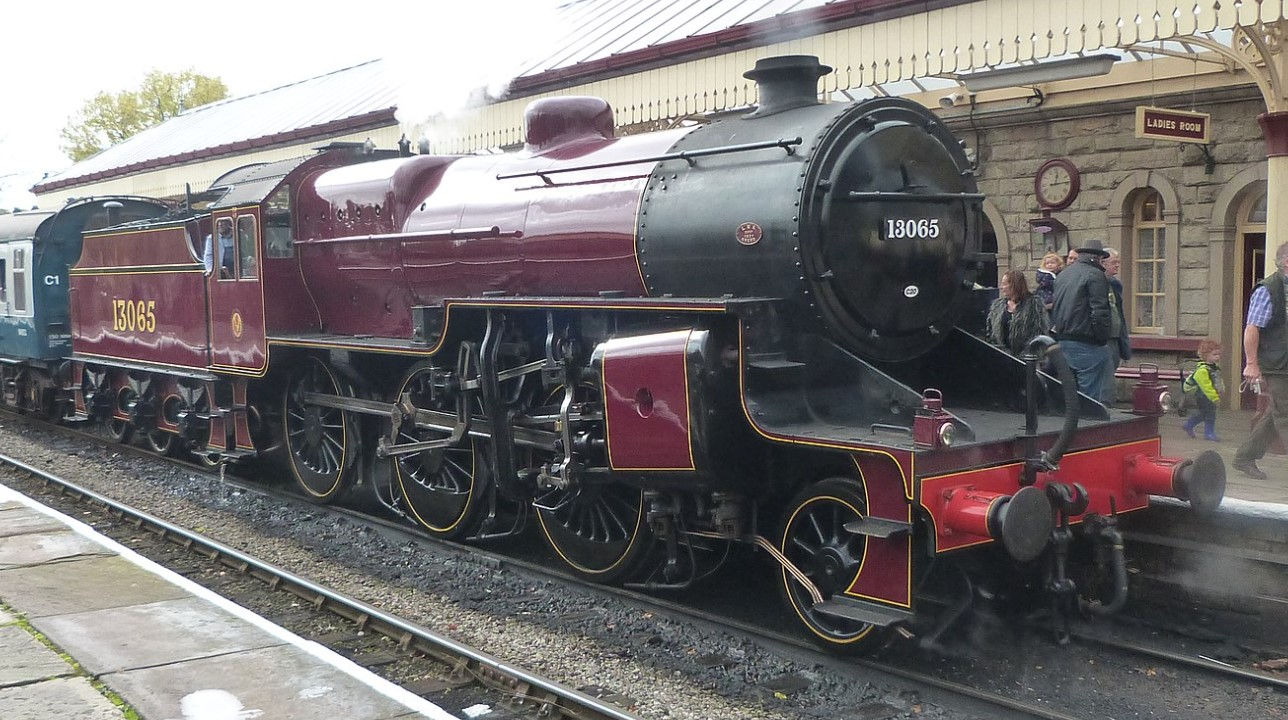 13065 at the East Lancs Railway in October 2014. ©Peter Broster