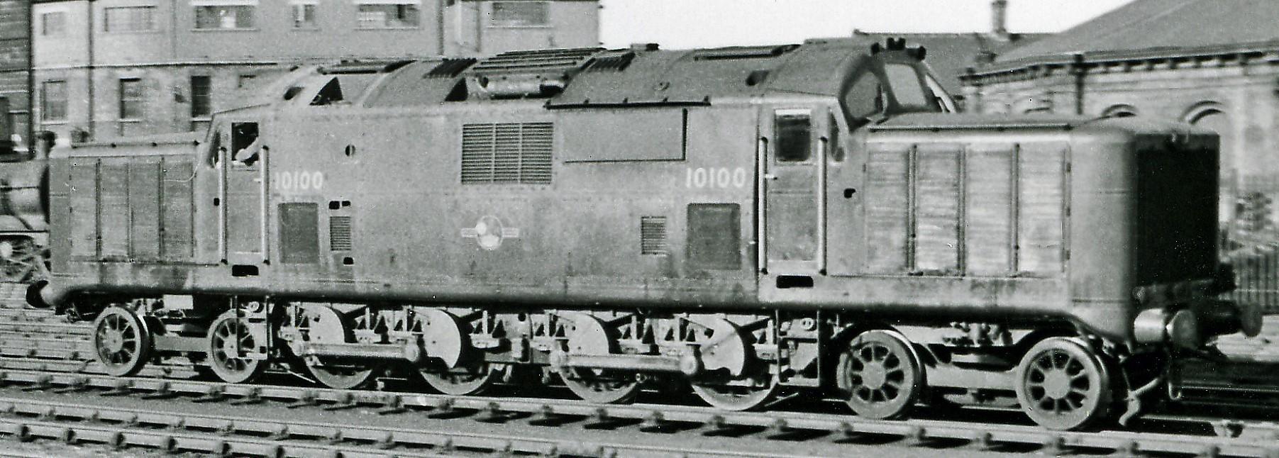 10100 at Derby in June 1957. ©Ben Brooksbank