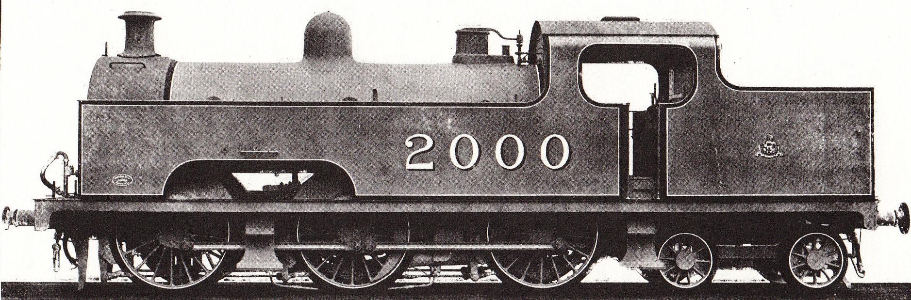 2000 - Midland Railway works photograph. ©Public Domain
