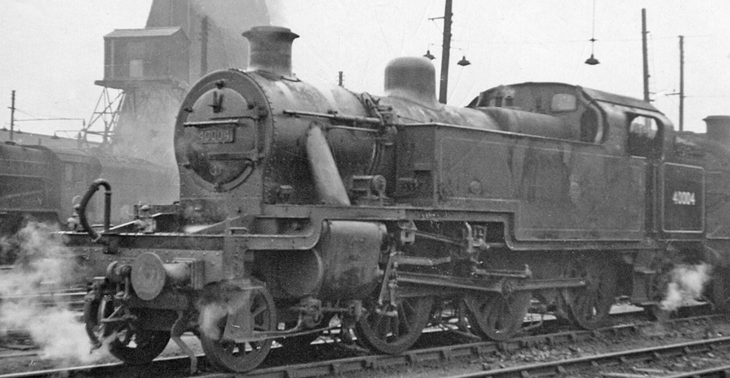 40004 at Willesden Locomotive Depot in September 1956. ©Ben Brooksbank