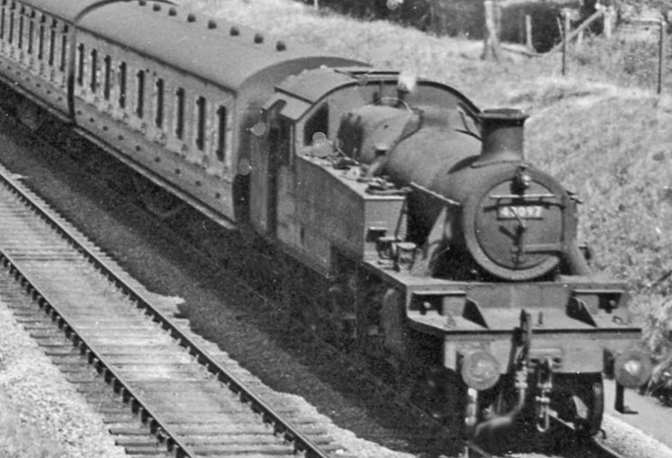 40097 at Glazebrook in June 1957. ©Ben Brooksbank