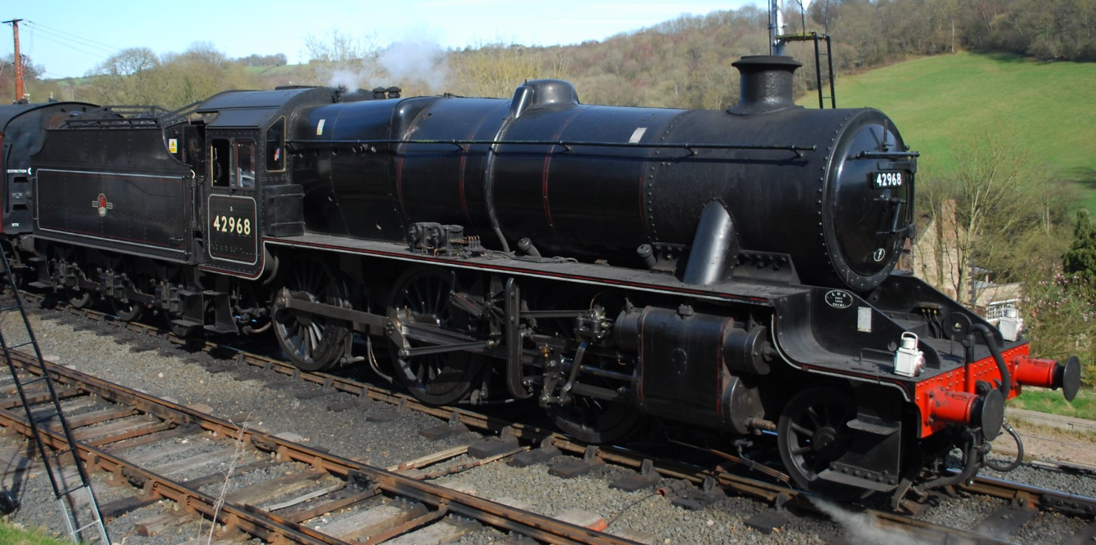 42968 at the Severn Valley Railway in March 2012. ©Hugh Llewelyn