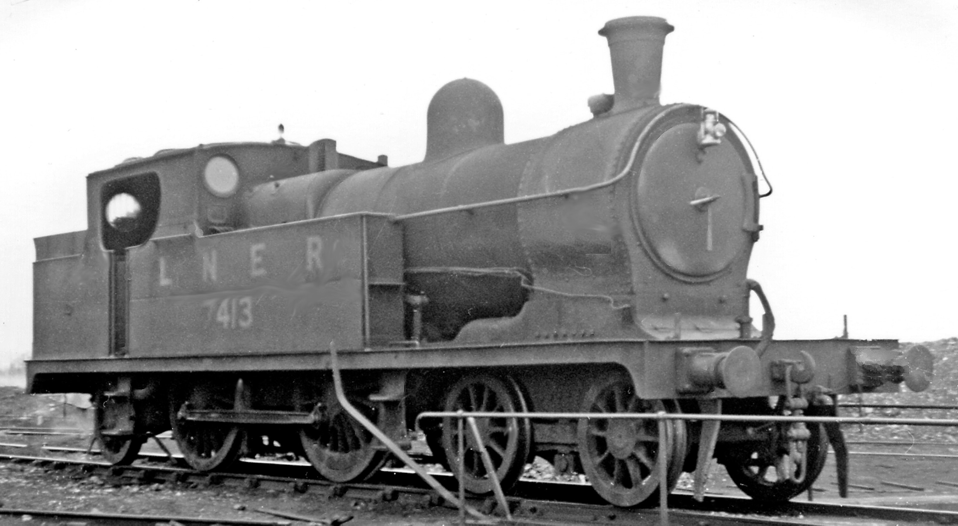 7413 at Chester Northgate Locomotive Depot in September 1947. ©Ben Brooksbank