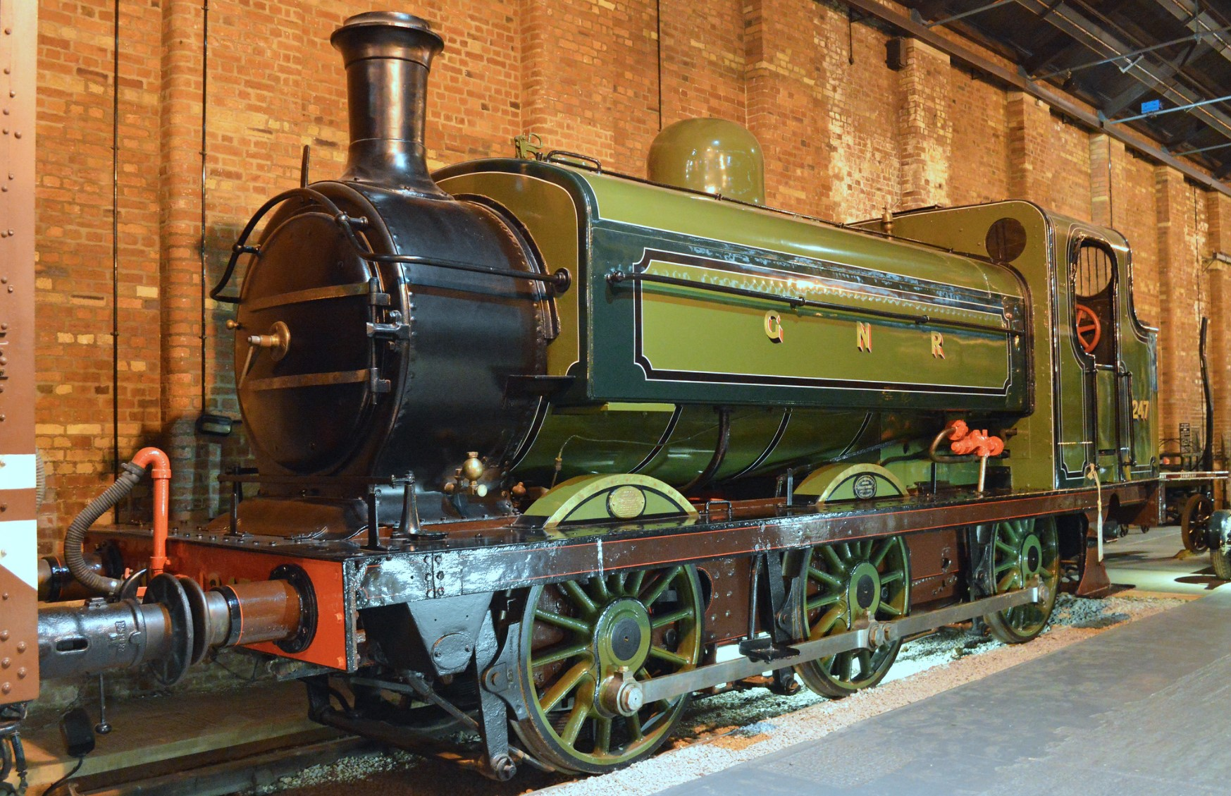 1247 at the National Railway Museum in York in January 2016. ©Alan Wilson