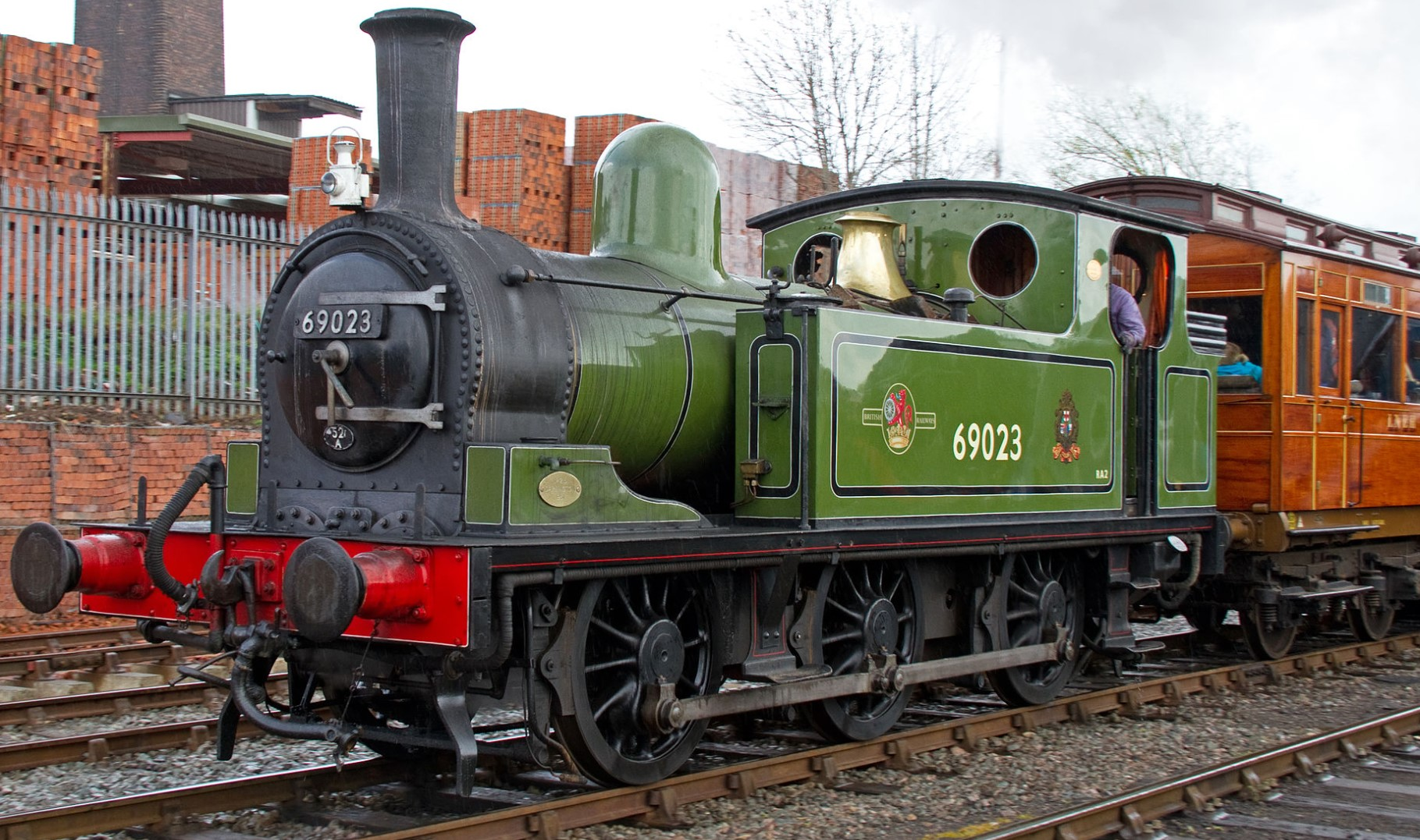 69023 at Tyseley in April 2012. ©Tony Hisgett