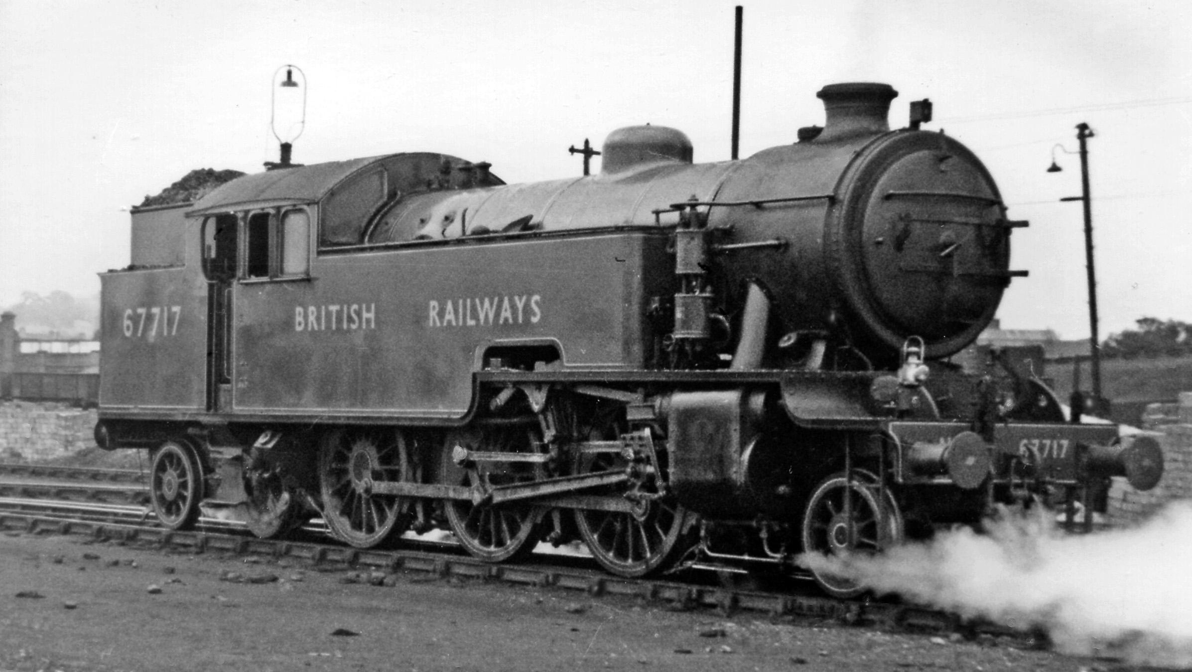 67717 at Neasden Locomotive Depot in July 1948. ©Ben Brooksbank