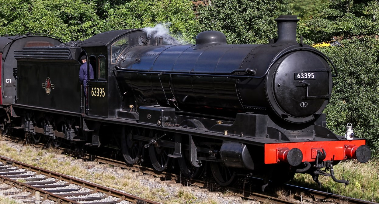 63395 at the North Yorkshire Moors Railway in October 2016. ©Charlie Jackson