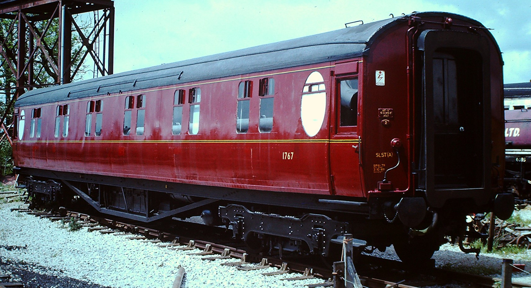 1767 at Cranmore on the East Somerset Railway in July 1977. ©Hugh Llewelyn