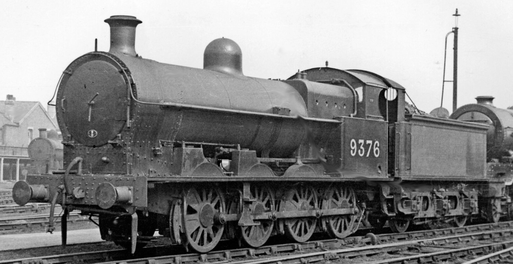 9376 at Crewe Works in May 1948. ©Ben Brooksbank