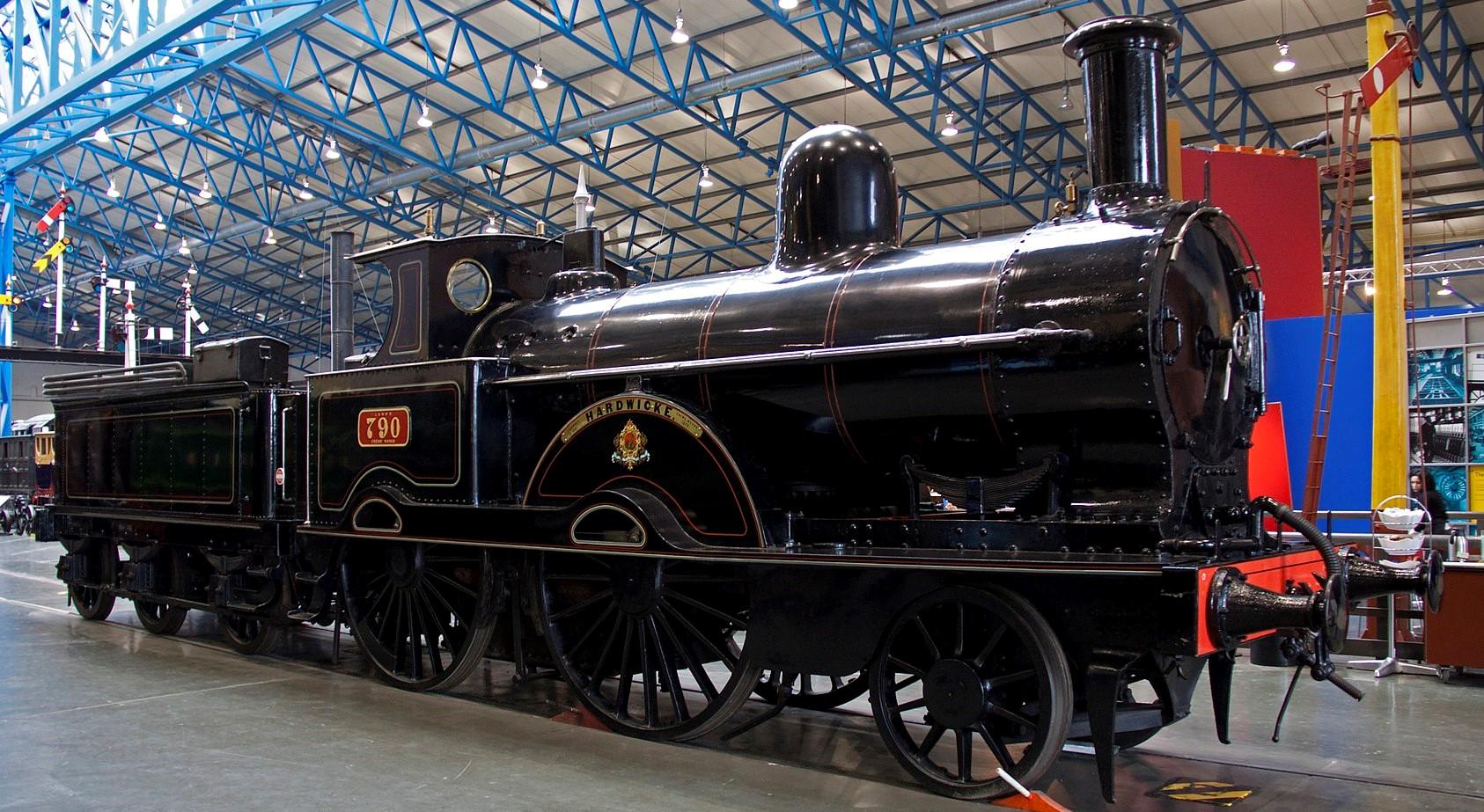 790 'Hardwicke' at the National Railway Museum, York in February 2011. ©Tony Hisgett