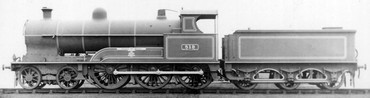 819 'Prince of Wales'. Official works photograph. ©Public Domain