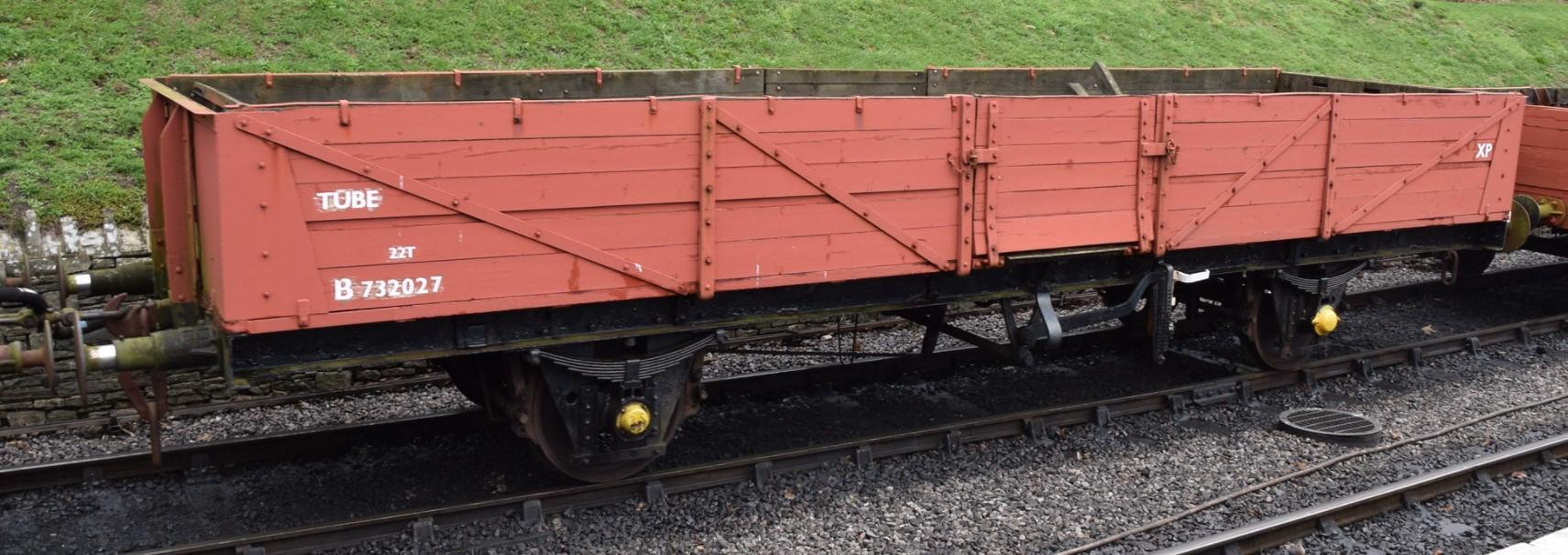 B732027 at Swanage in October 2019. ©Hugh Llewelyn