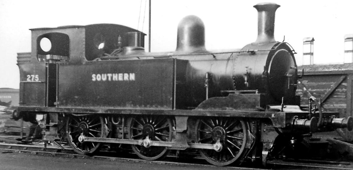 275 at Eastleigh Works in October 1947. ©Ben Brooksbank