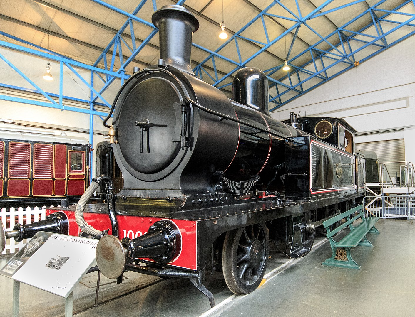 1008 at the National Railway Museum, York in June 2015. ©Barry Skeates