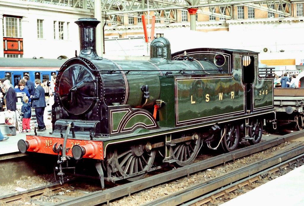 No. 245 at London Waterloo in October 1988. ©P L Chadwick