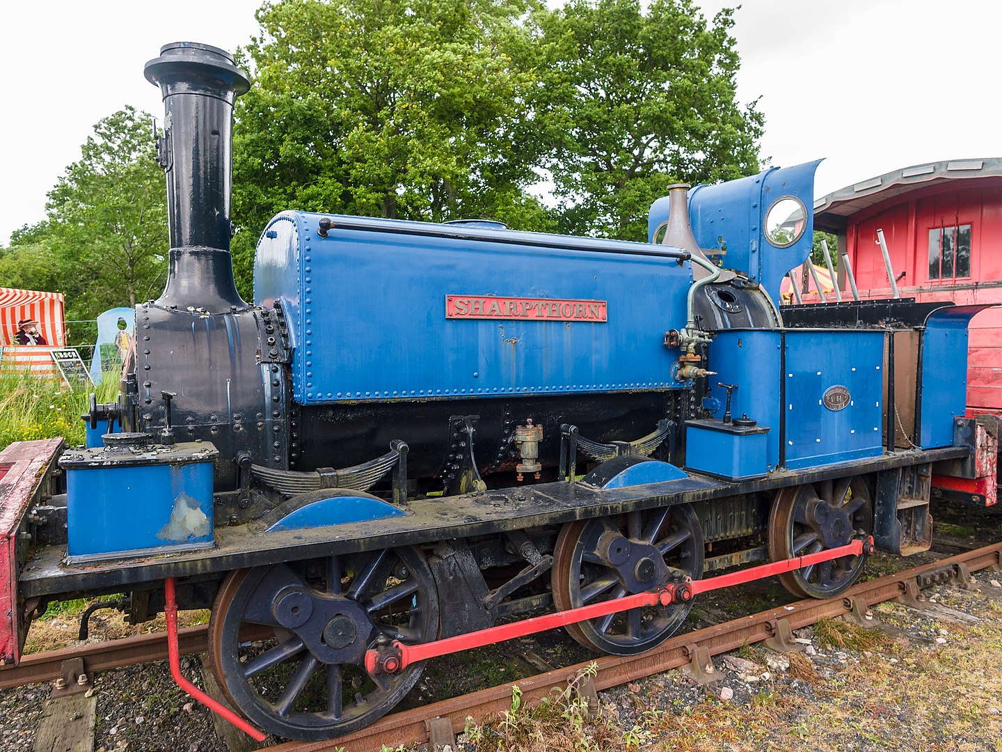 641 'Sharpthorn' at the Bluebell Railway in June 2013. ©James Petts