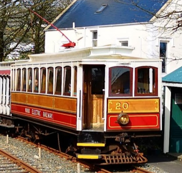 No.20 at South Cape, Isle of Man in April 2019. ©Dave Martin
