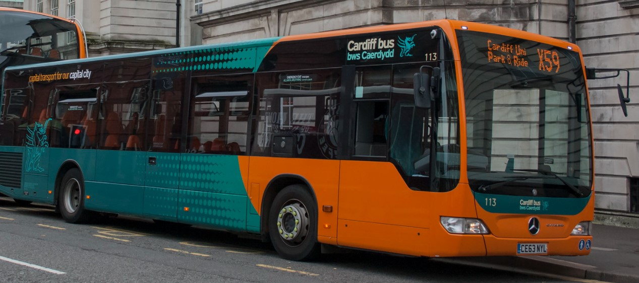 CE63 NYL at Cardiff in September 2015. ©Jeremy Segrott