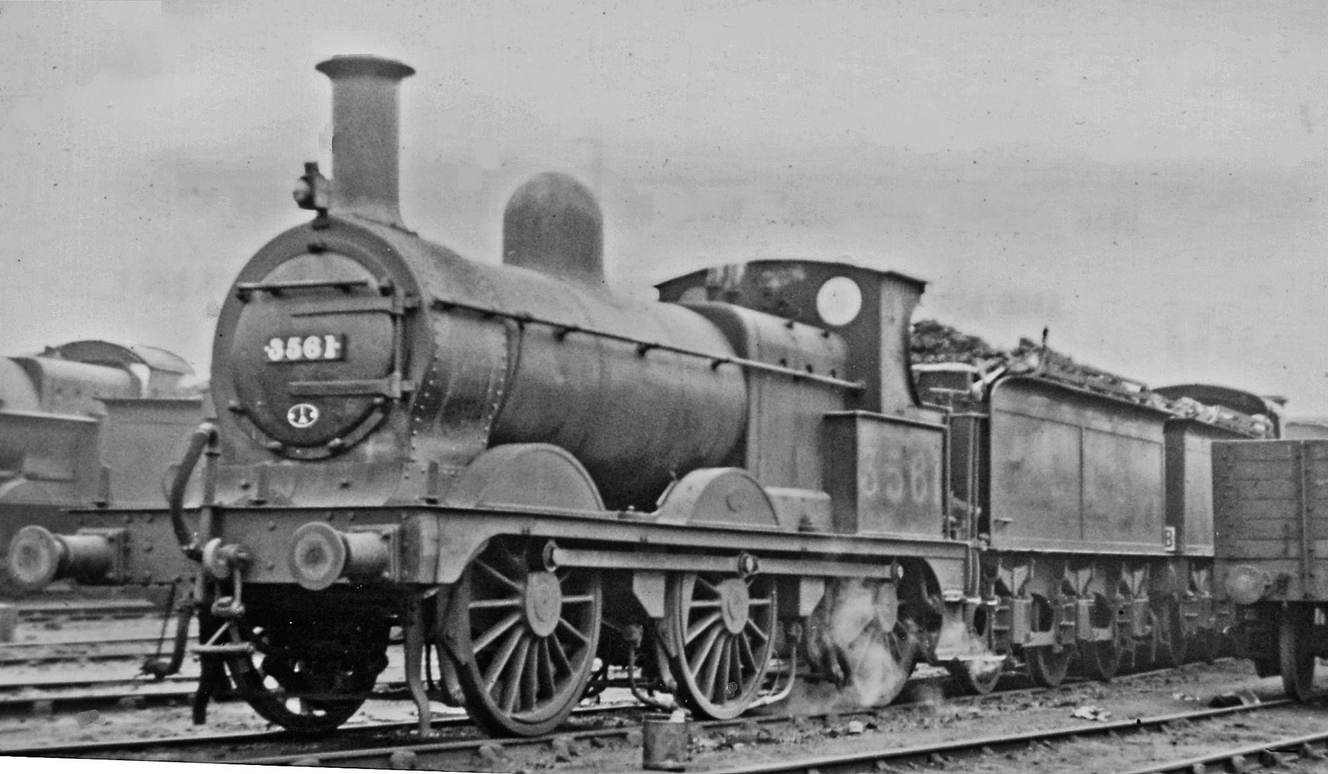 3561 at Willesden Loco Depot in April 1946. ©Ben Brooksbank