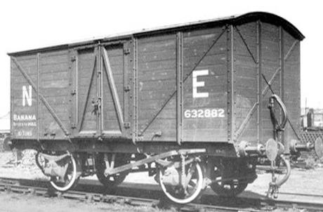 LNER 632882 van. © Provided by Oxford Rail