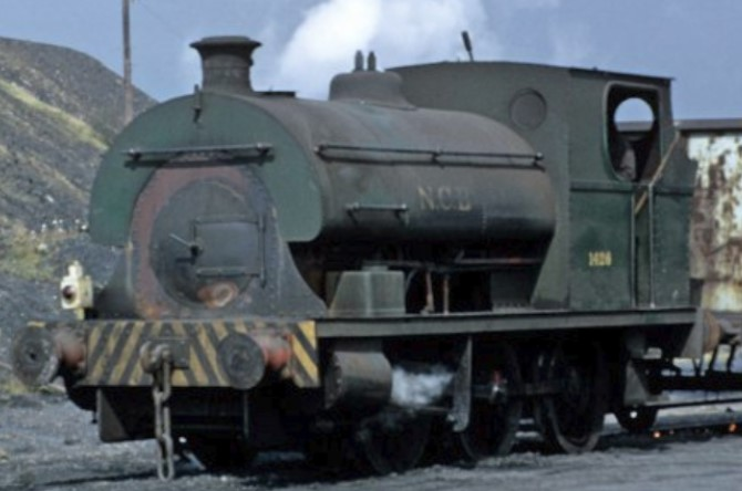 1426 at NCB Brynlliew, Glamorgan in April 1974. © Paul Bryson
