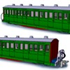 Peco OO9 Gauge Ffestiniog 'Bowsider' Coaches - Project Updates