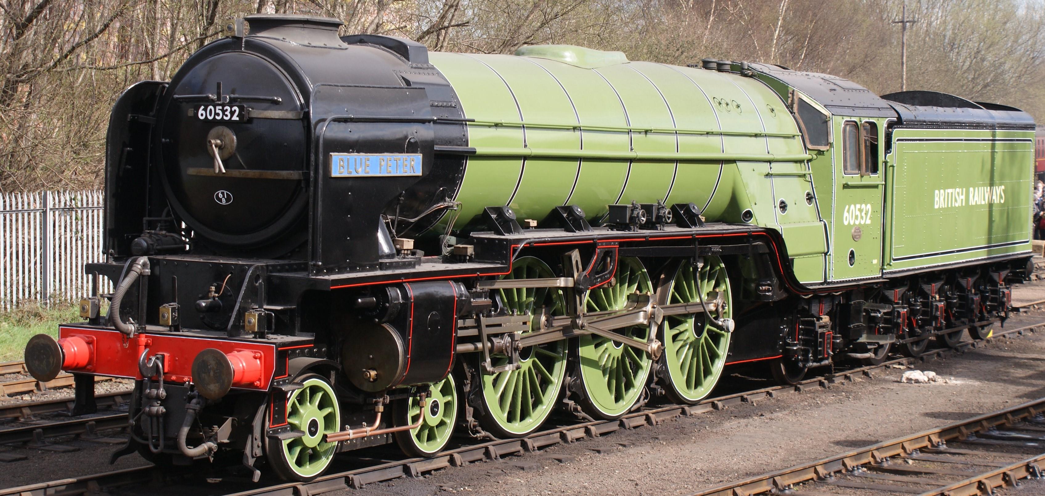 60532 'Blue Peter' at  Barrow Hill in April 2009. ©Hugh Llewelyn