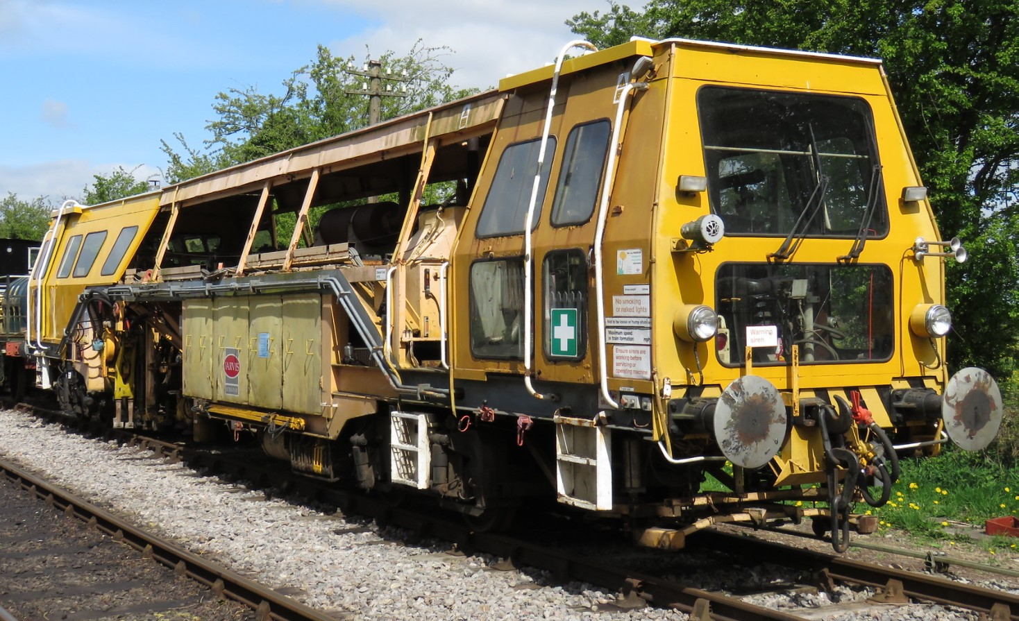 DR73216 at the Swindon & Cricklade Railway in April 2017. ©Foulger Railway Photography