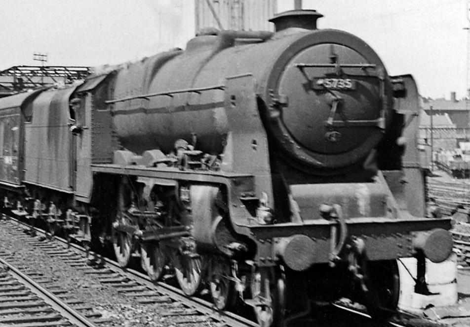 45735 'Comet' at Wigan North Western in June 1957. ©Ben Brooksbank