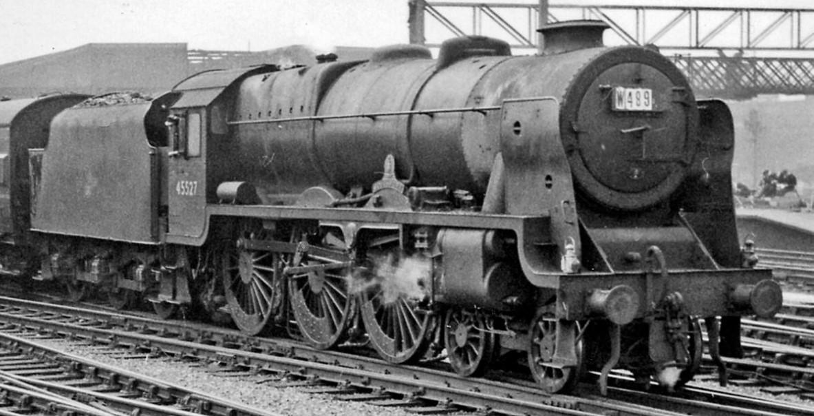 45527 at Crewe in June 1959. ©Ben Brooksbank