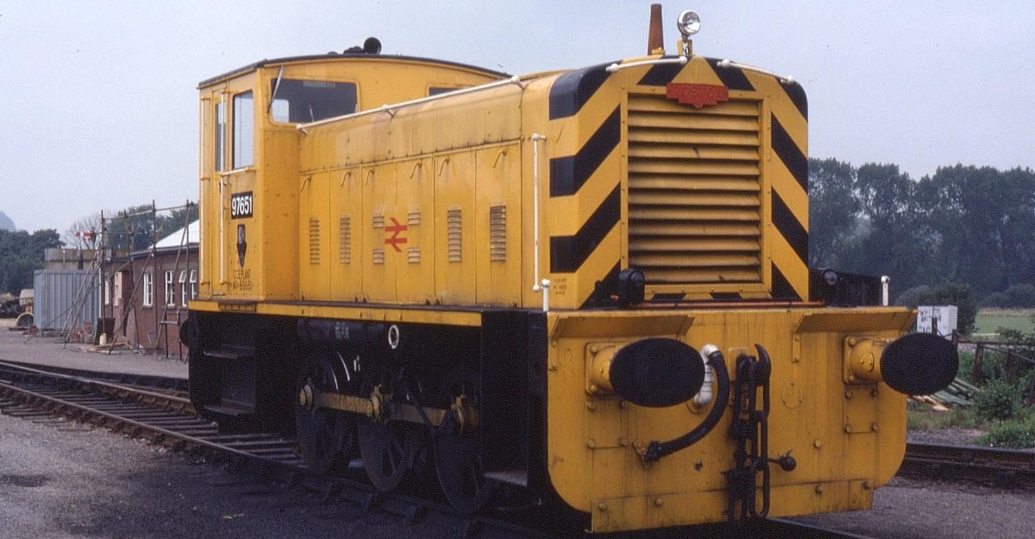 97651 at Radyr Depot in July 1982. ©Phil Richards