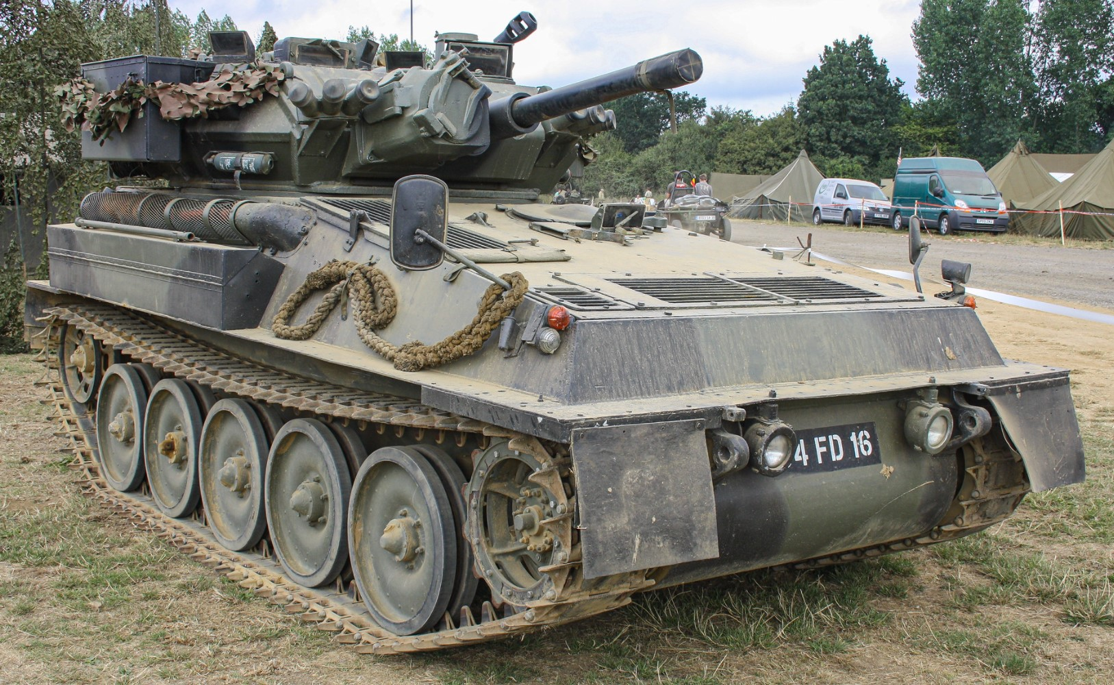 FV101 at the 2010 War and Peace Show. ©270862