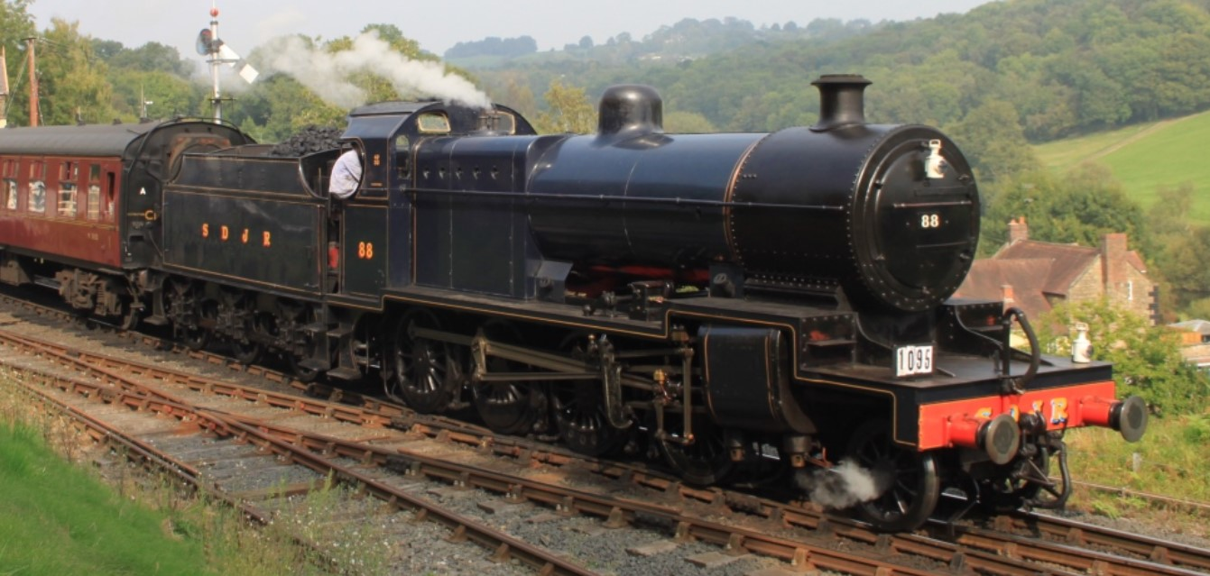 No. 88  at Highley on the Severn Valley Railway in September 2014. ©Geof Sheppard