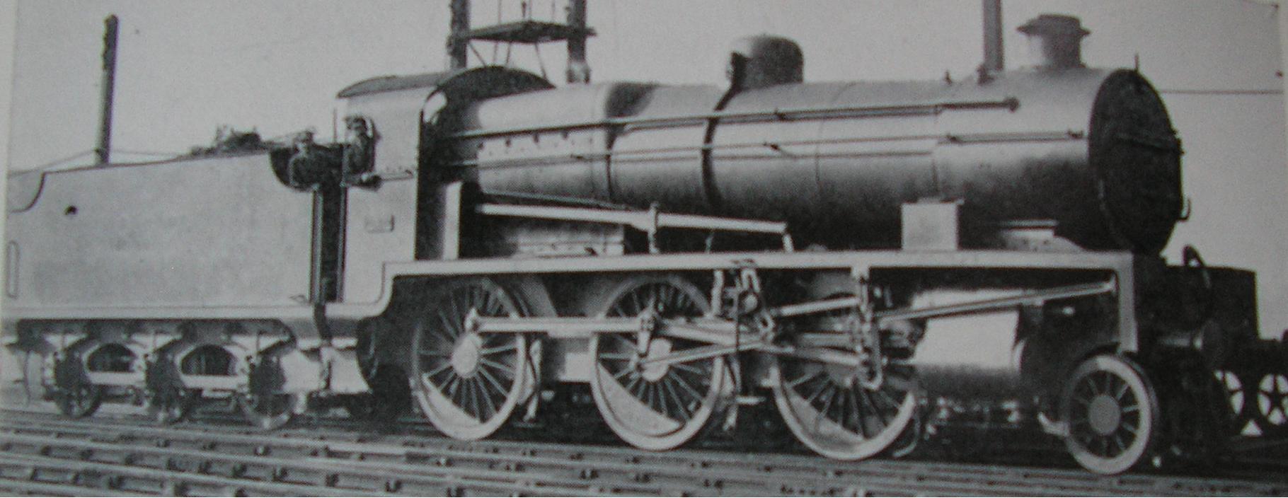 822 at Ashford Works in 1922. ©Public Domain