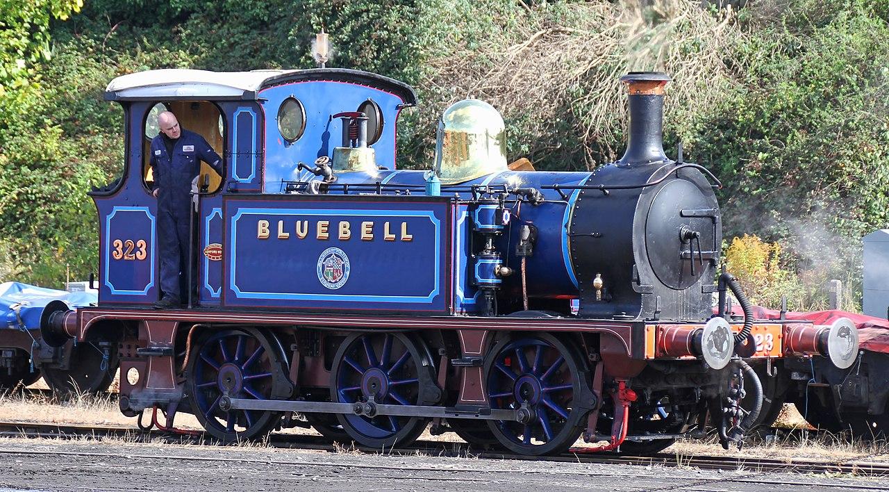 323 on the Bluebell Railway in September 2017. ©Tony Hisgett