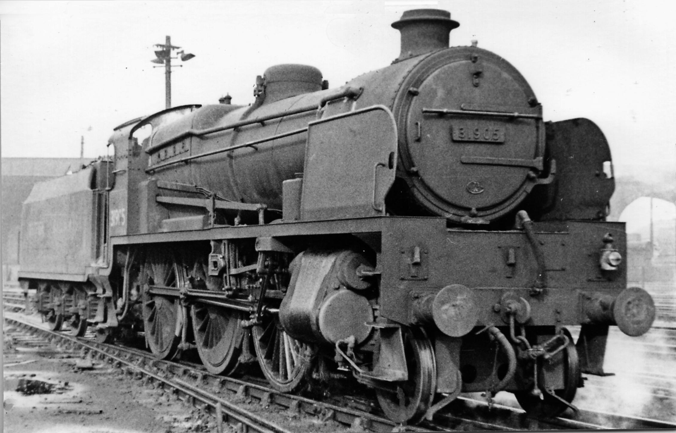 31905 at Stewarts Lane Locomotive Depot in April 1951. ©Ben Brooksbank