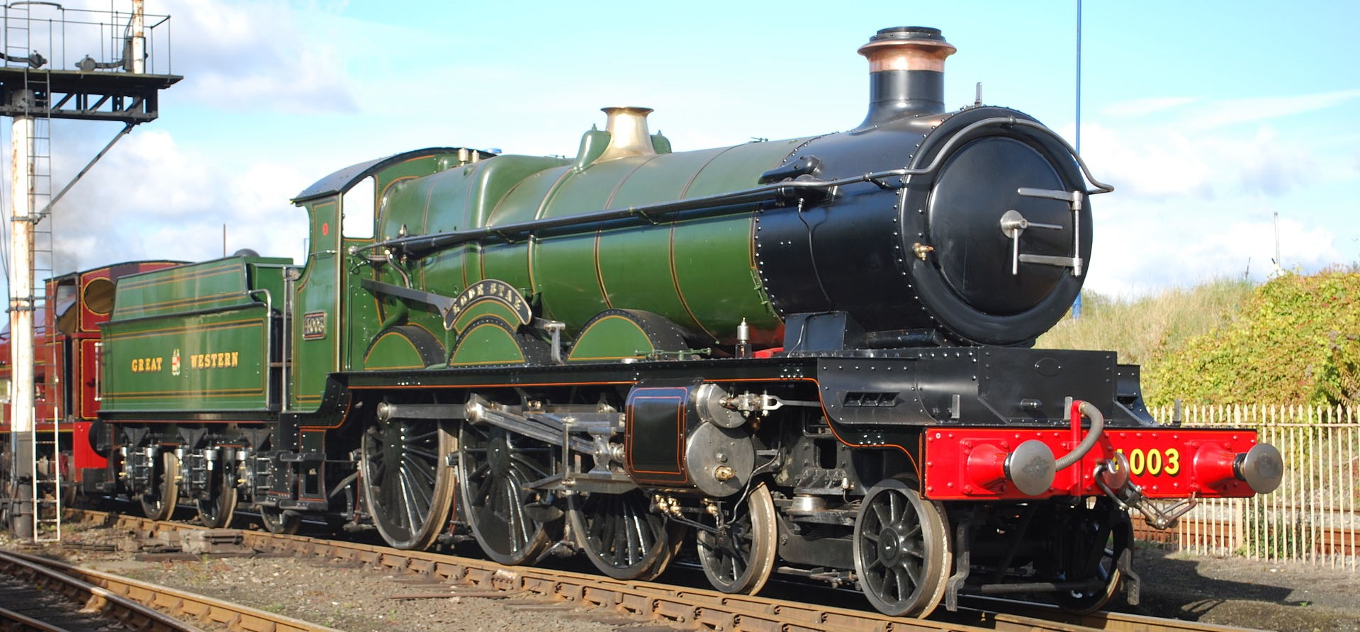 4003 'Lode Star' at the NRM in October 2010. © Hugh Llewelyn
