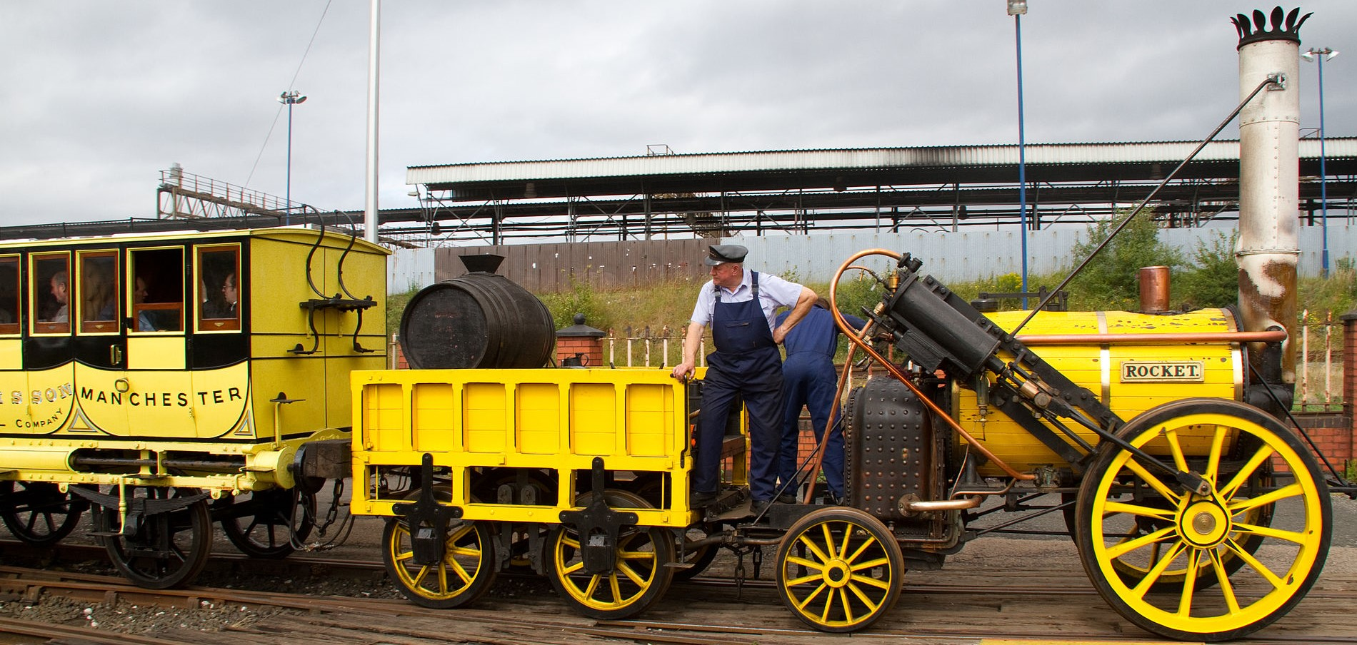 "A replica of ""Rocket"" at Tyseley in June 2011. ©Tony Hisgett"