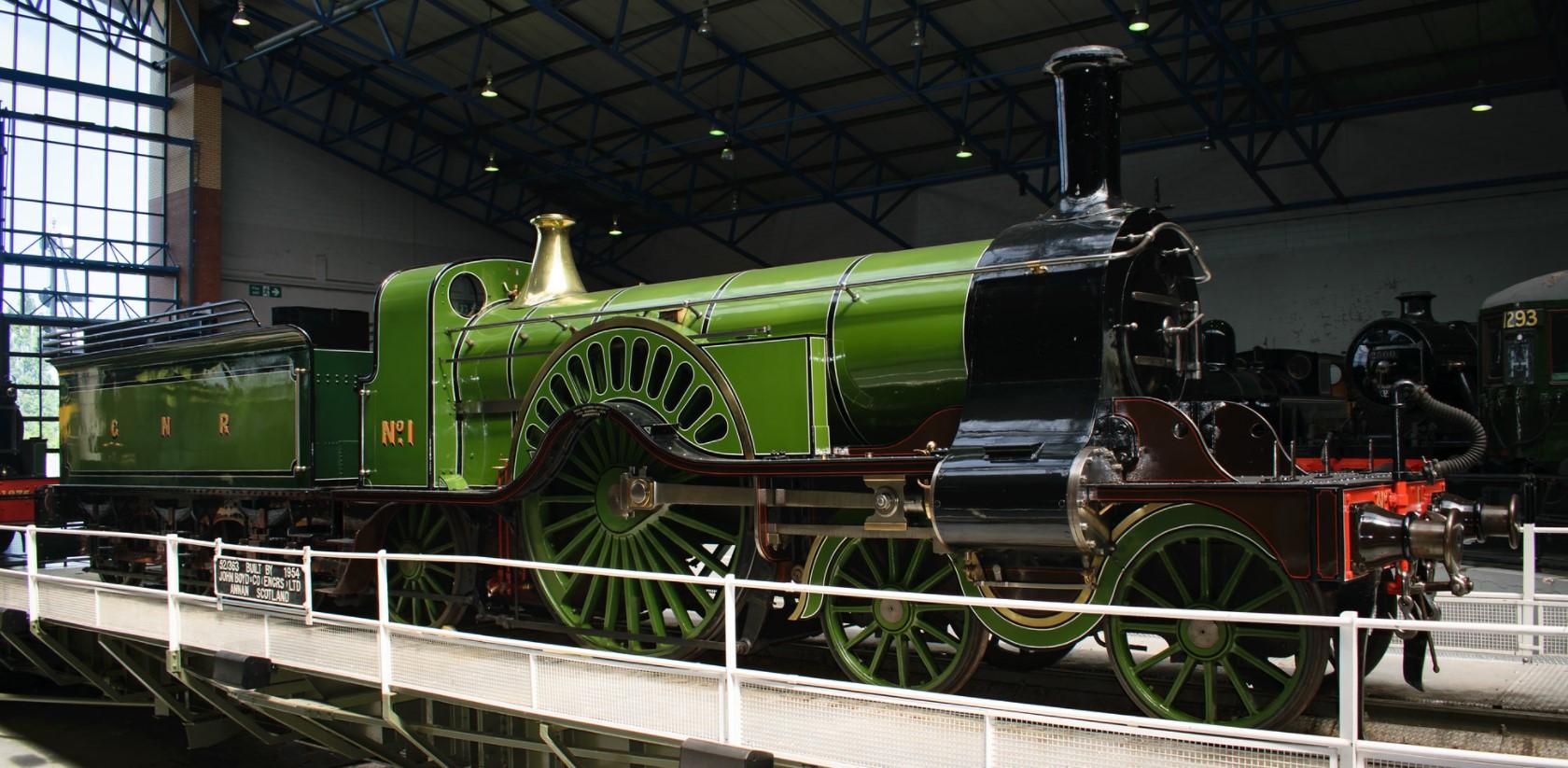 No.1 at the National Railway Museum, York in May 2018. ©Dan Adkins