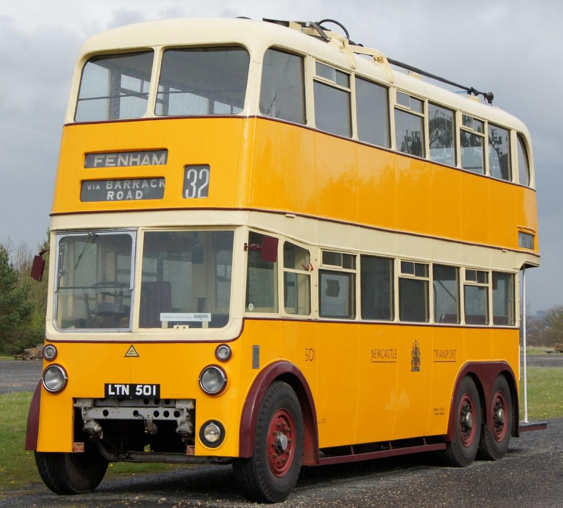 LTN501 at Beamish in April 2012. ©Chris Sampson