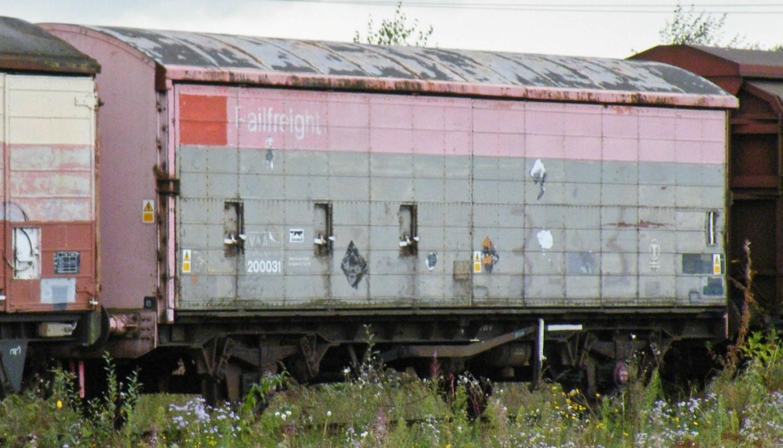 200031 at Toton Yard in October 2012. ©Dan Adkins