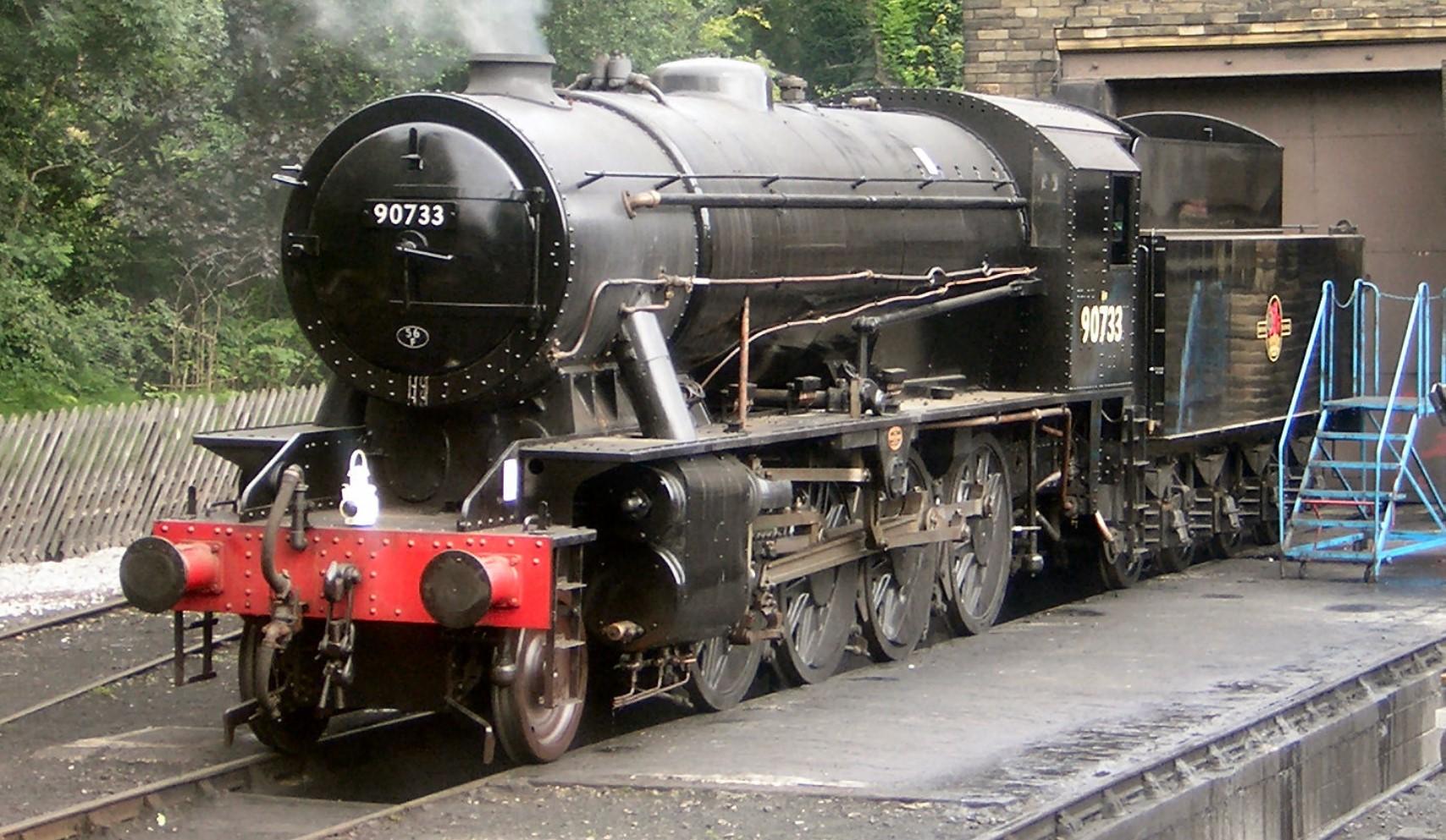 90733 at Haworth in July 2007. ©Public Domain