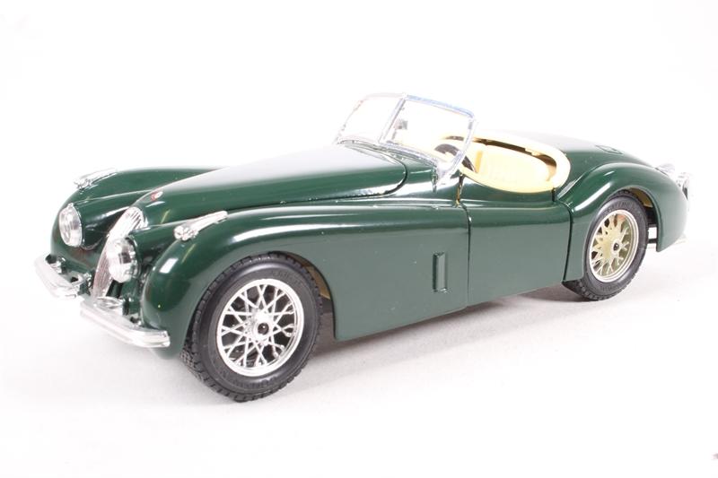 www.hattons.co.uk - Burago 1502Burago 1948 Jaguar XK120 ...