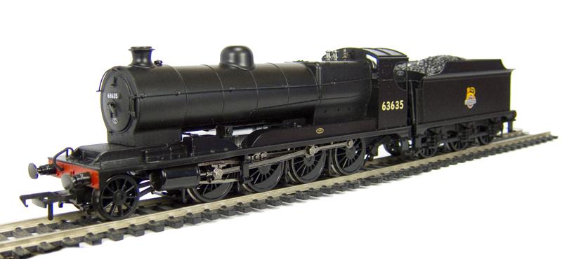 31-004A Bachmann OO Gauge Robinson Class O4 63762 BR Black Weathered