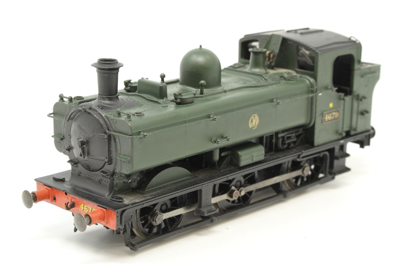 www.hattons.co.uk - Bachmann Branchline 31-901A-PO19 Class 57XX 0-6-0 Pannier Tank Locomotive 4679 in GWR Green Livery with
