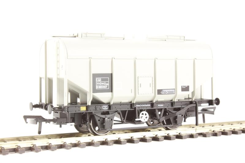 Bachmann 38-604 21 Ton Grain Hopper Grey Worthington