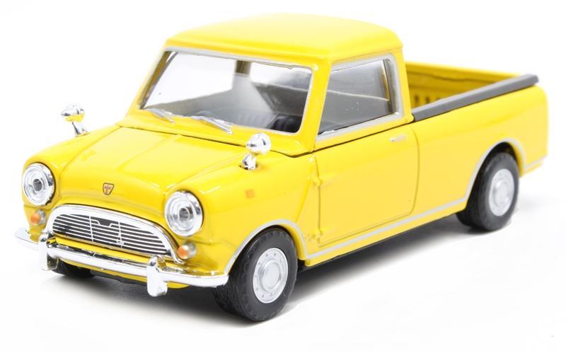 Mini Pick Up Light Blue 1:43 Model CARARAMA