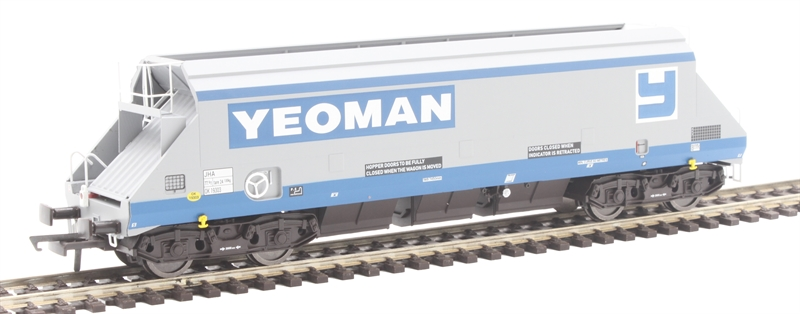 Dapol 4F-050-00X - 102t JHA outer wagon in Foster Yeoman livery