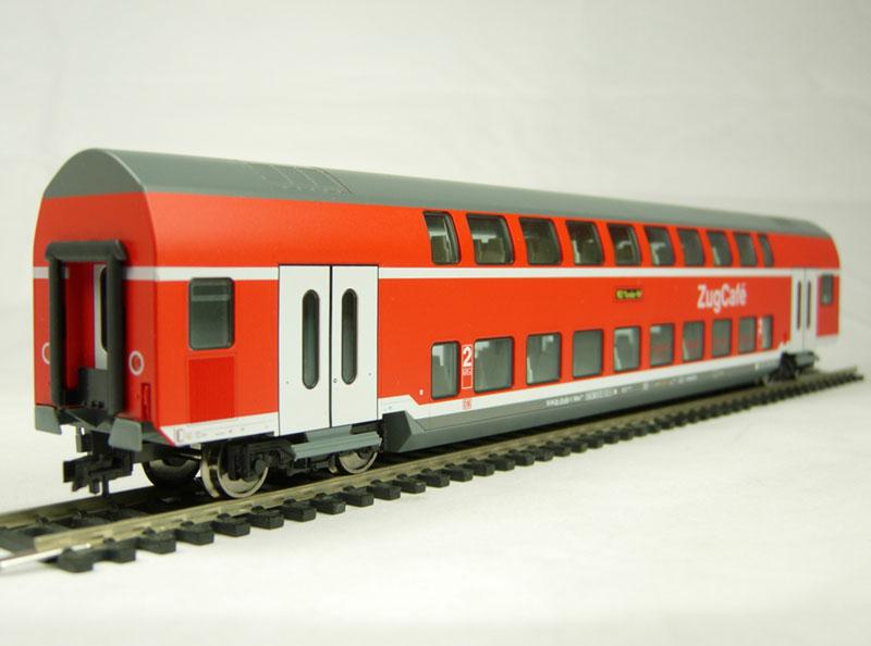 PE Badische chemin de fer Wagons MOC D fleischmann piccolo 8862,ovp I Piste N FH